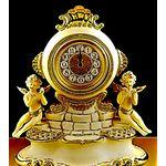 Часы настольные CREAM GOLD от Bruno Costenaro