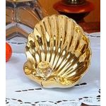 Декоративная ракушка с хрустальным шаром