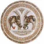 Тарелка для канапе ЛОШАДИ ВЕТРА от Gien
